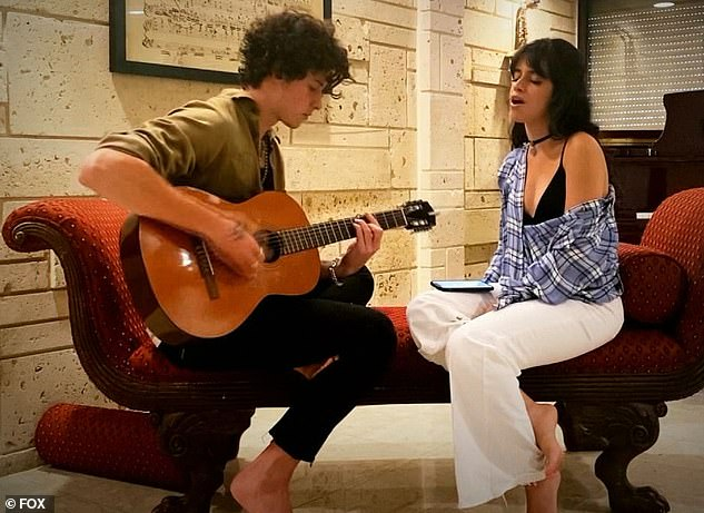 Pure chemistry: They'll continued to use their music to give back when they play an acoustic rendition of her track My Oh My for the iHeart Living Room Concert For America, which will air an encore on April 6