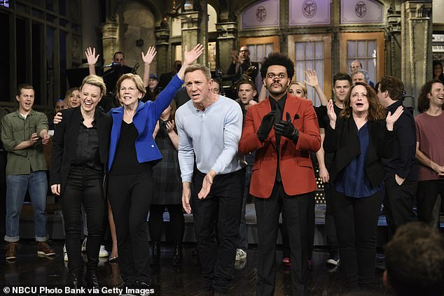Back in business: Saturday Night Live is set for a surprise return to the air this weekend
