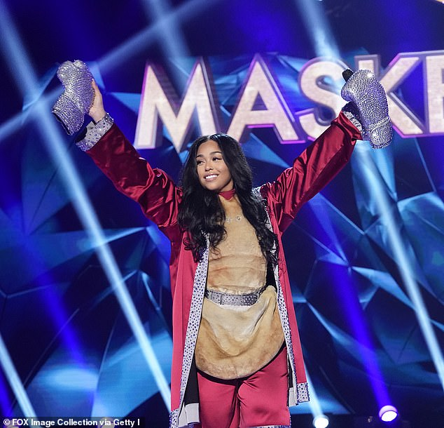 Champion: However Masked Singer won the night as the episode which revealed Kylie Jenner's former BFF, Jordyn Woods, as the kangaroo netted a whopping 7.7million