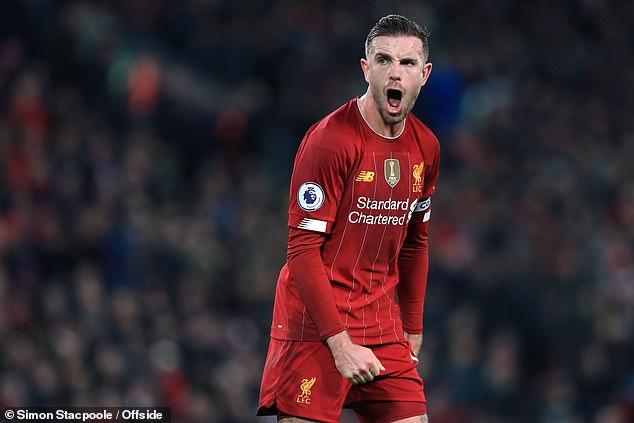 Liverpool skipper Jordan Henderosn led efforts to form #PlayersTogether initiative
