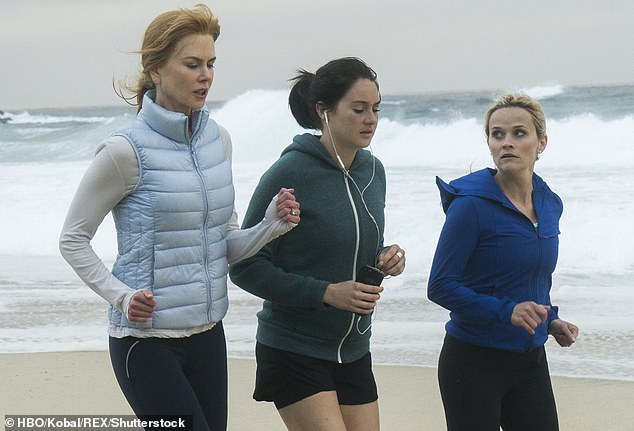 Return goals: She joined the starred ensemble of HBO's Big Little Lies in 2017, with Meryl Streep, Nicole Kidman, Reese Witherspoon and Zoë Kravitz