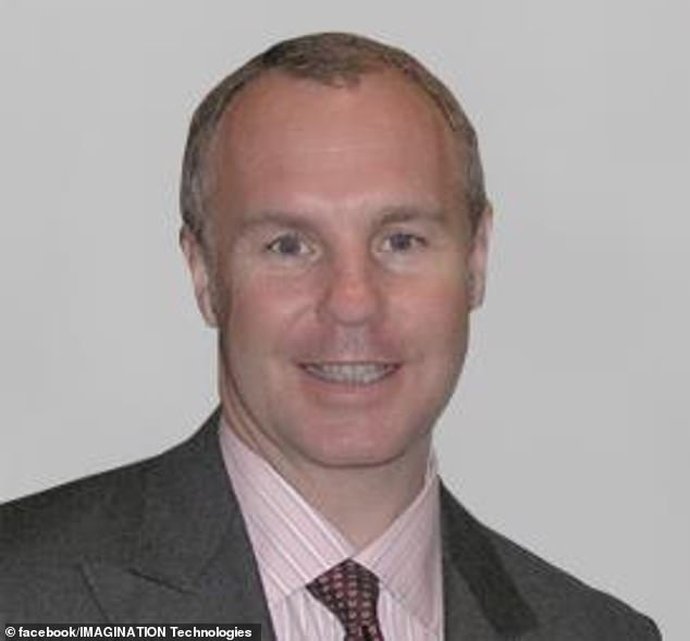 It came as Imagination Technologies chief executive Ron Black (pictured) left following attempts by Beijing-linked China Reform Holdings to take control of the company