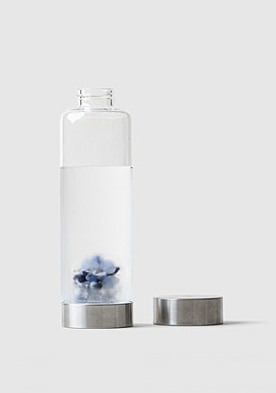 Use the Gemstone Water Bottle (pictured) for balance and harmony, says Marie