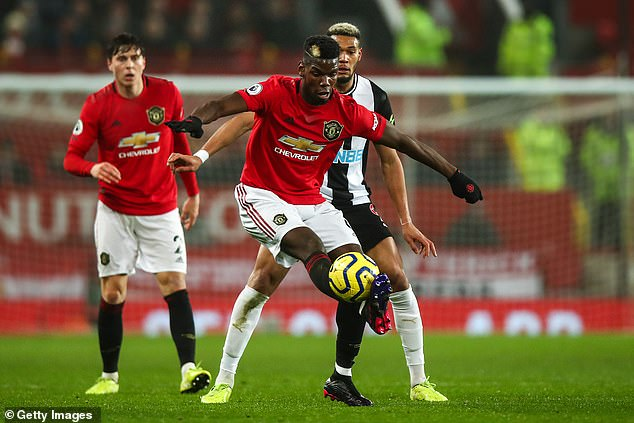 Pogba's disappointing form since returning to the club has been a huge topic of debate