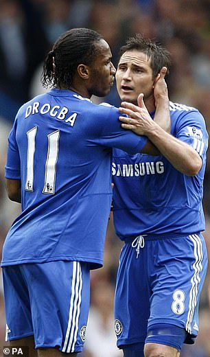 Didier Drogba and Frank Lampard would have been particularly moved when he revealed that he was leaving