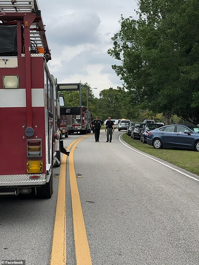 The Hernando County Sheriff's Department said in a Saturday press release that they were called to a residence on the 9400 block of Dunkirk Road in Spring Hill after getting a call from a woman who said she received suicidal texts from someone living inside the home
