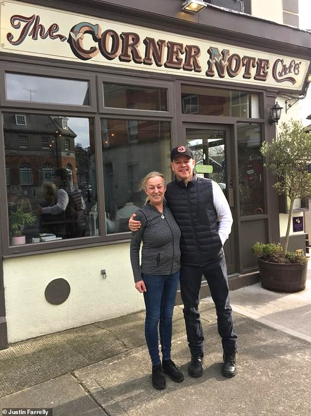 Matt Damon delights locals as he isolates in a small Irish town ...