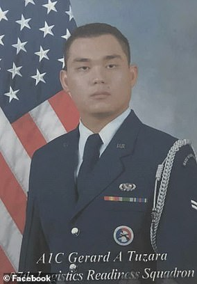 Gerard Tuzara was previously a US Air Force officer before starting work at Amazon