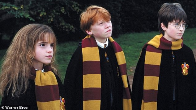 Success story: Emma became famous as the bookish Hermione Granger in the eight Harry Potter films in which she starred from 2001 to 2011