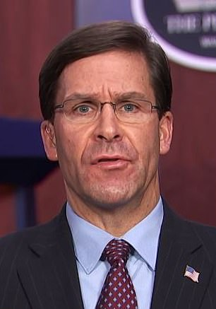 U.S. Secretary of Defense Mark Esper indicated Thursday that it's possible Navy Capt. Brett Crozier would be reinstated following his controversial April 2 dismissal after he sent a letter to nNavy leaders pleading with them to disembark the USS Theodore Roosevelt