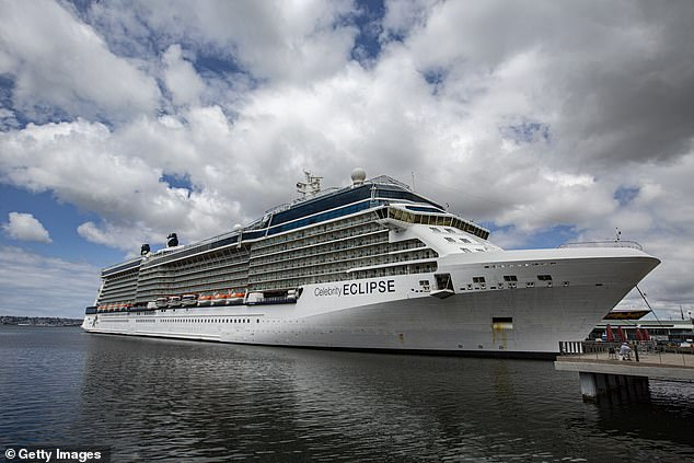 An 83-year-old Queensland man, who was a passenger on the Celebrity Eclipse cruise ship, died at a Sydney hospital
