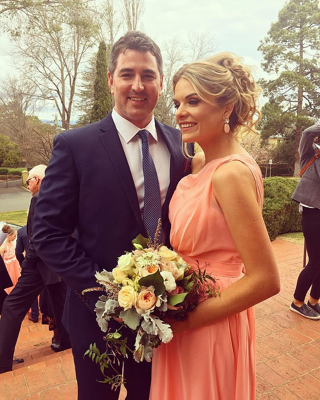 No rush:The pair were engaged in April 2017. Erin insisted she and Sean were in no rush to marry and revealed she doesn't wear her engagement ringbecause it scratches her daughter