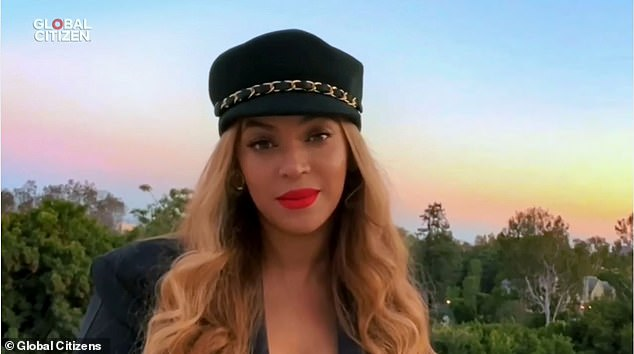 Beyonce gave a passionate speech on how COVID-19 `` seriously affected '' African-American communities during her visit to the One World: Together at Home concert