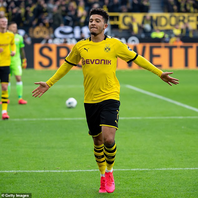 Sancho joined Dortmund in 2017 and has become one of the hottest properties in Europe