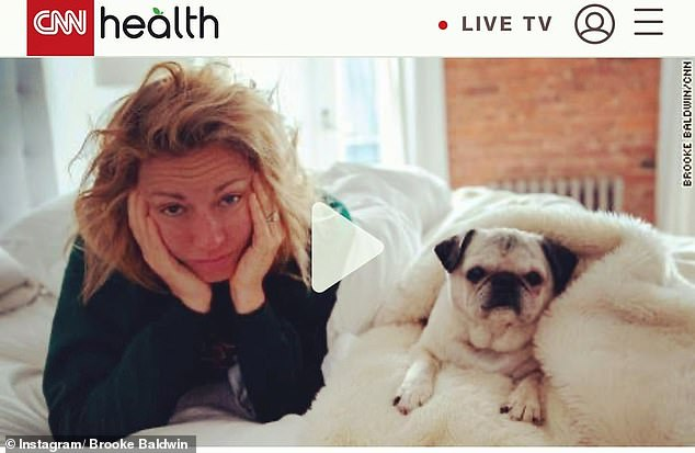 `` Very dark '': CNN presenter Brooke Baldwin spoke about her battle with COVID-19, detailing the painful symptoms that left her in tears every night