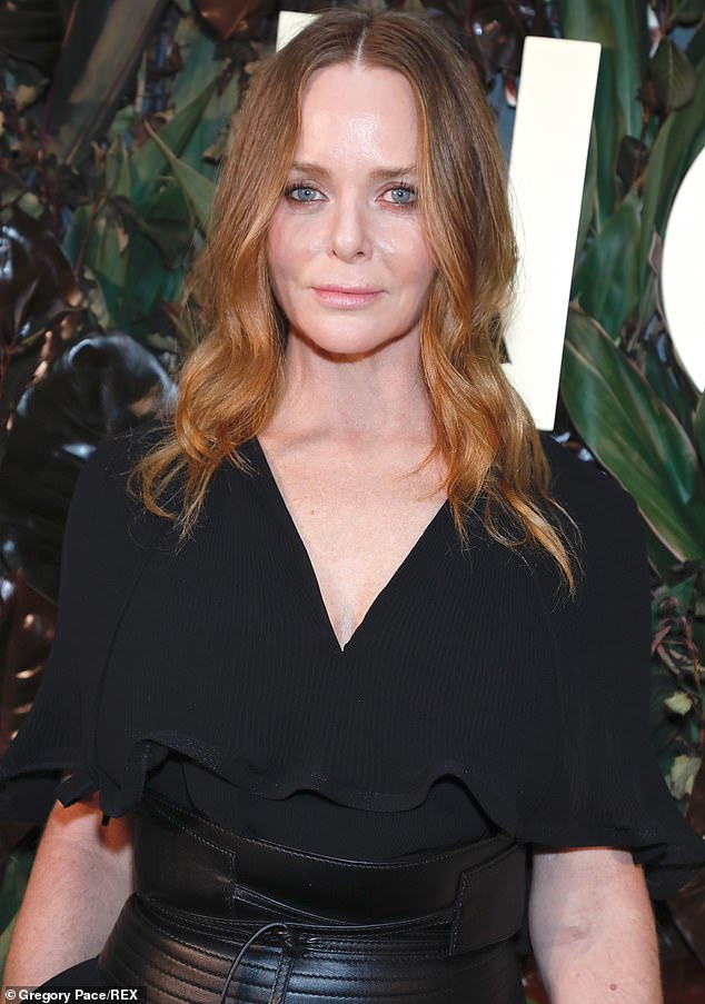 Fashion designer Stella McCartney (above, last October) put hundreds of her employees on leave and asked those who remain at work to take a pay cut during the coronavirus crisis. Owner of favorite Hollywood celebrity brand to use taxpayer money from government retention program to pay the wages of those who don't work