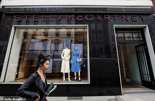 Unlike Victoria Beckham, who put 30 workers on leave, McCartney, 48, told staff that there are no plans to supplement their wages with an improved package. Staff working at McCartney's two flagship stores in London have received letters informing them of the company's decision. (Above, the McCartney store in Mayfair)
