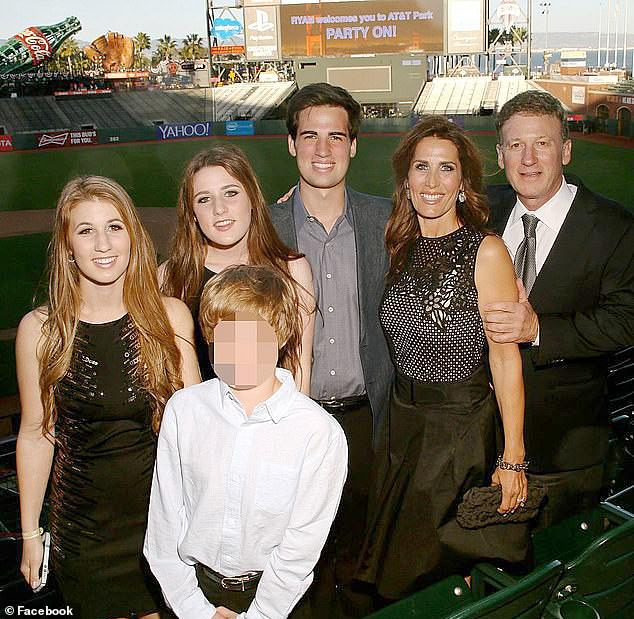 Salcedo has agreed to $ 100,000 to help Californian couple Bruce and Davina Isackson get their daughter into UCLA as a bogus football rookie, prosecutors said. The parents admitted spending over $ 600,000 to get Lauren and her sister into UCLA and USC with false sports credentials. They are pictured here with their children