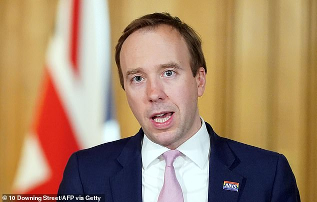 Health Secretary Matt Hancock thanked British Muslims for their service and