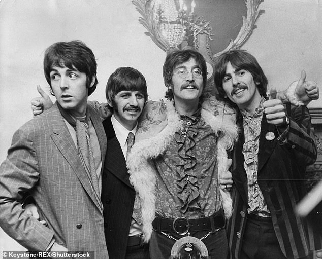 Icons: The Beatles were composed of Paul, John Lennon, George Harrison and Ringo Starr from 1960 until their separation in 1970, with countless hit albums with their name (photo from 1967)