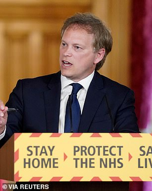 Grant Shapps Secretary of Transportation