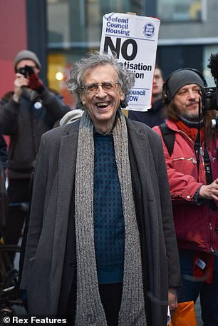 A witness claimed that Mr. Corbyn (photographed at another demonstration) was the