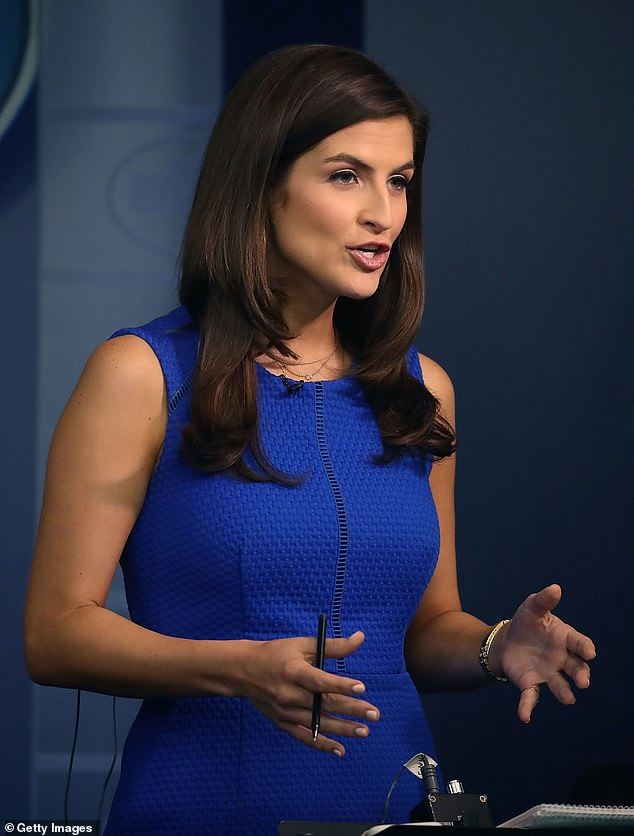 Kaitlan Collins, CNN's White House Correspondent, said she was asked by White House officials to swap seats with another reporter several rows back minutes before Trump's briefing on Friday afternoon