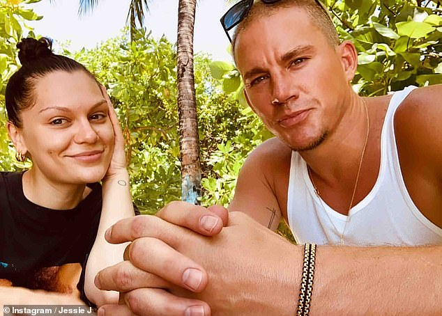 Called it stits: Meanwhile, in the romance department, Jessie is said to have separated from Channing Tatum again after reviving their romance in January (photo last year)