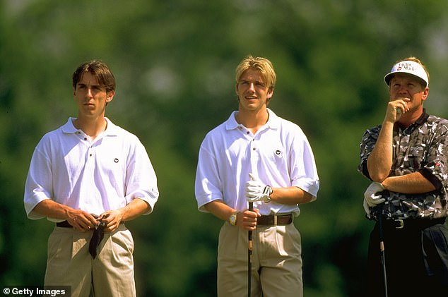 Despite their different origins, Neville and Beckham have formed an unbreakable friendship