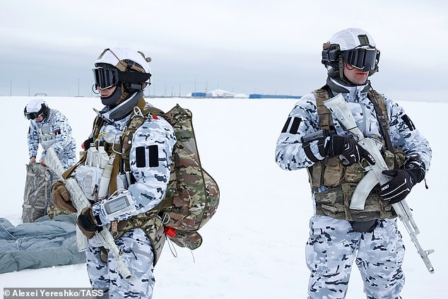 They included reconnaissance and search operations aimed at destroying the enemy
