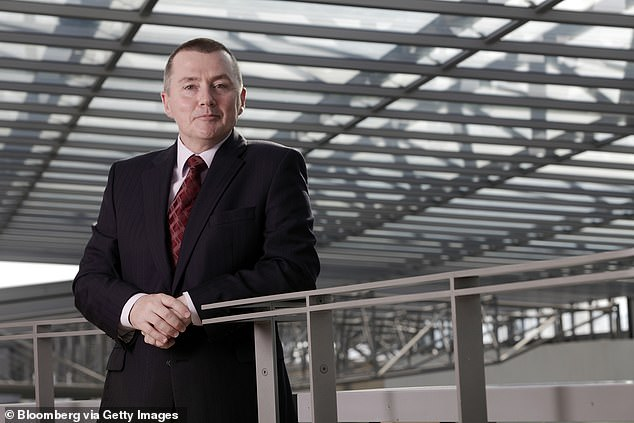 Willie Walsh, CEO of IAG, at British Airways headquarters in Hammondsworth, was previously Managing Director of BA and Aer Lingus