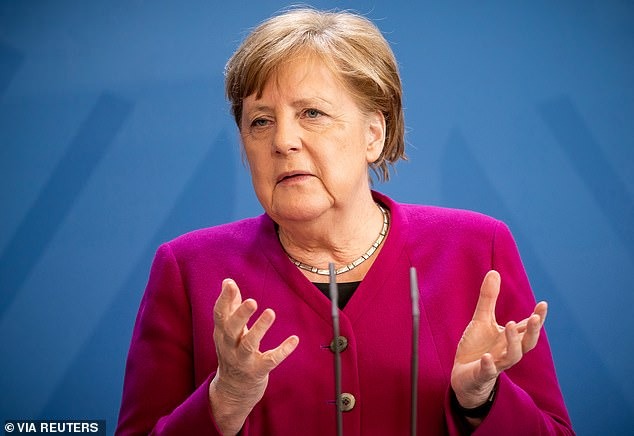 Angela Merkel said that stronger locking might not be avoided if new cases continue to increase