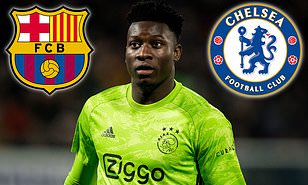 Barcelona and Chelsea target Andre Onana ready to quit Ajax as ...