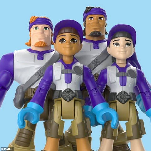 Mattel's 'Thank You Heroes' line also features a delivery drivers collection (pictured)