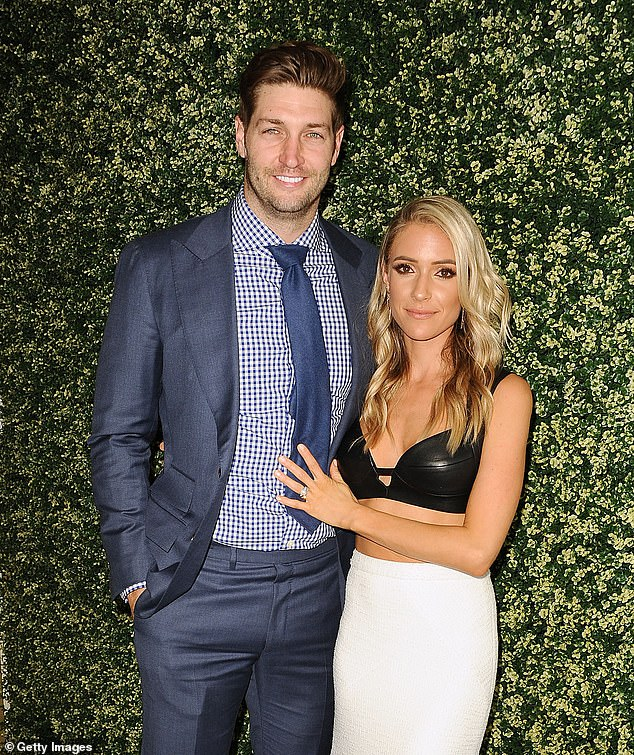Times more pleased: the wedding of Kristin Cavallari and Jay Cutler's seven-year-old has not always been easy; photographed together on 26 April 2017 to West Hollywood