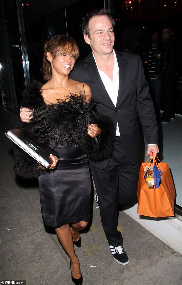 Former husband: Stacey is shown with ex-husband Emmanuel Xuereb in 2008 in Los Angeles