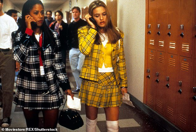 Hit movie: The New York City native rose to fame portraying Dionne Davenport in the 1995 film Clueless starring Alicia Silverstone, 43 (pictured)