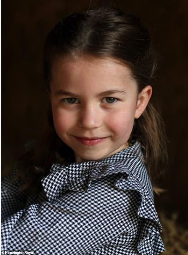 Meanwhile, Prince Charles shared the official birthday portrait of the Little Royal as he wished her a `` very happy birthday ''
