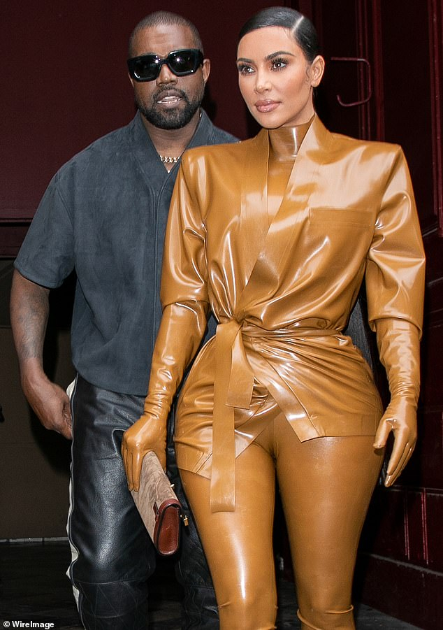 Relationship issues: A source told Us Weekly last week: 'Kim and Kanye have debated a lot during quarantine. Kanye really pisses me off.