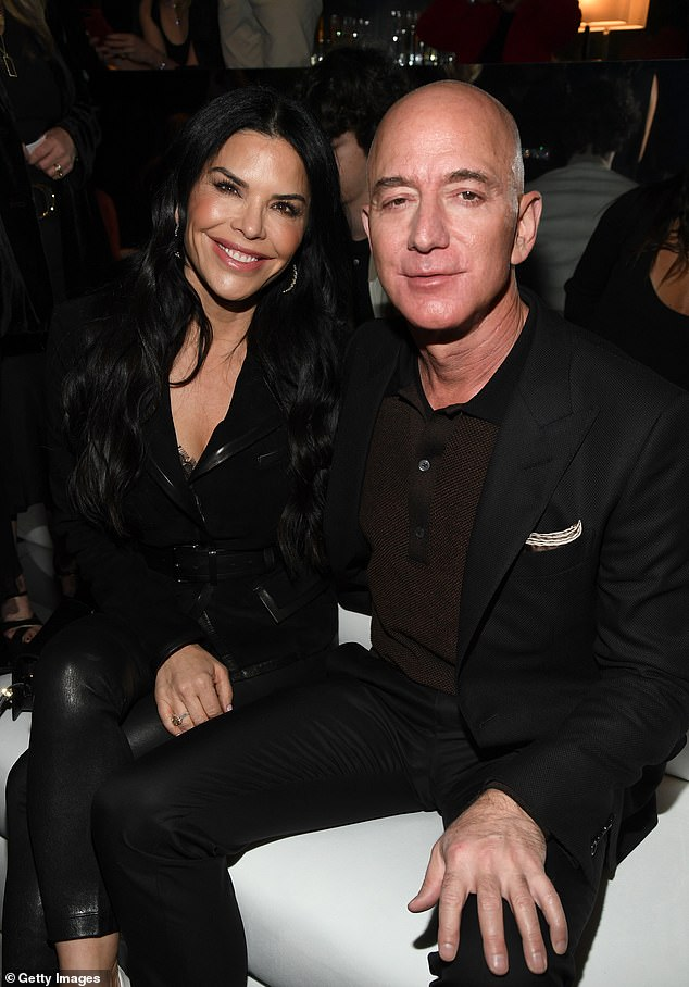 Amazon CEO Jeff Bezos and girlfriend Lauren Sanchez. Bezos is once again the richest person in the world. While many companies have suffered from business closings, Amazon has thrived and even hired 100,000 new employees to keep up with the surge in demand.