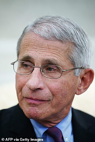 Coronavirus expert Dr. Anthony Fauci at the White House said last week that the drug was