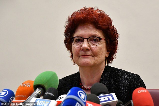 Andrea Ammon (photo), head of the European Center for Disease Control (ECDC), said today that Britain is not yet seeing a slowdown in cases.