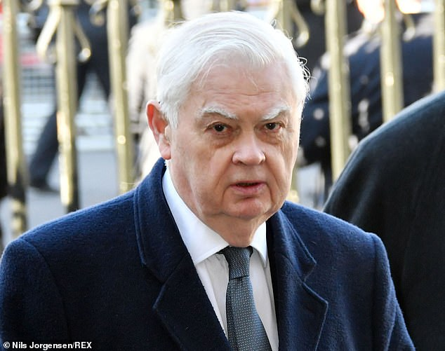 Lord Lamont, pictured in January 2019, has said it is 'not practical and not affordable for the state to pay people not work'