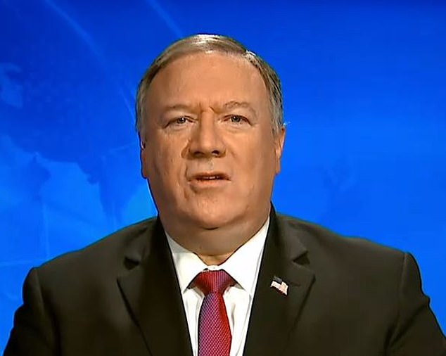 Chinese state media branded US Secretary of State Mike Pompeo 'evil' on Monday over his repeated claims that the coronavirus accidentally leaked from a government lab amid an escalating war of words between Washington and Beijing