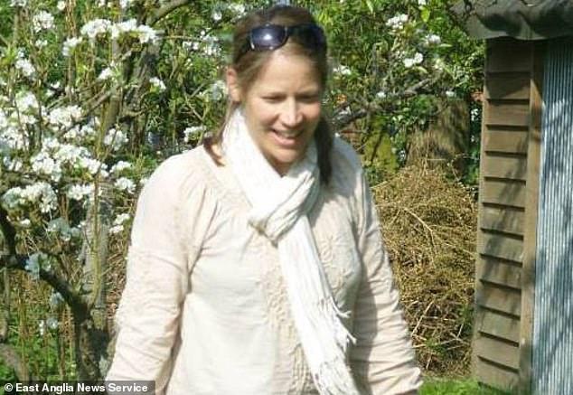 Silke Hartshorne-Jones, 41, was shot twice at her family's £600,000 farmhouse where she lived with her gun dealer husband Peter Hartshorne-Jones in Barham, Suffolk