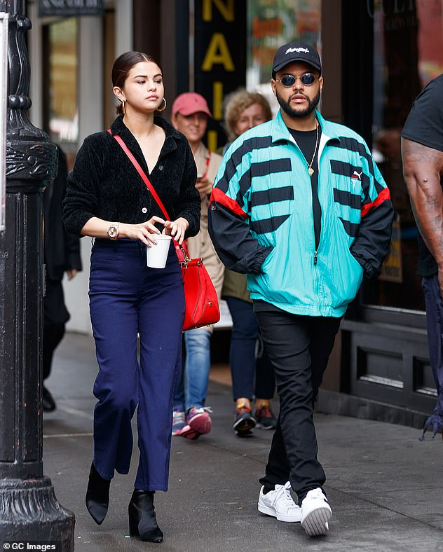 Love 10 months: Selena dated Star Boy singers between January and October 2017 (photo September 2017)