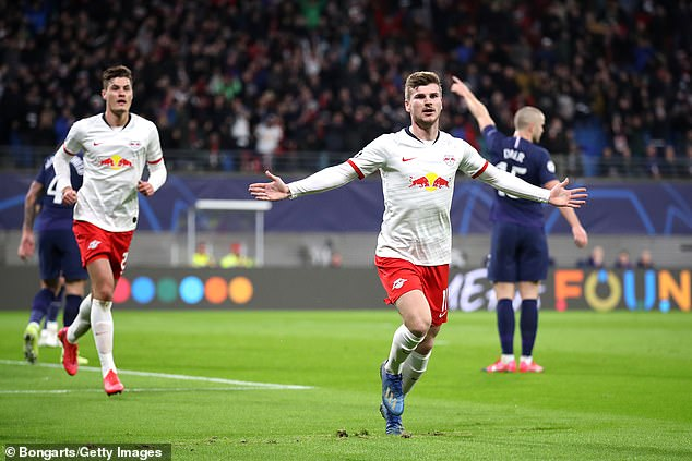 Many renowned European clubs seek the services of RB Leipzig striker Timo Werner
