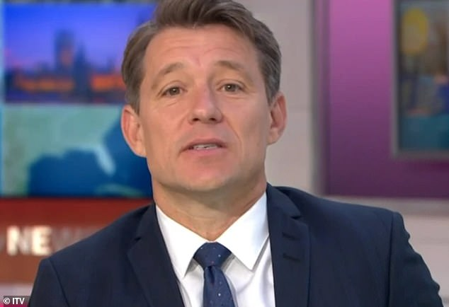 Reassurance: it comes after Kate Good Morning Britain co-host Ben Shephard said she `` finds comfort '' by talking to her husband every day as he continues to fight COVID-19 .