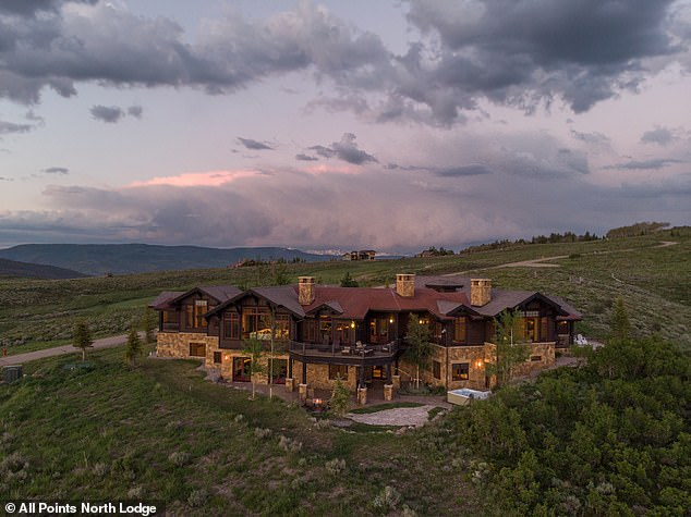 'He mentioned trouble with his ex': Kardashian's 36-year-old babydaddy checked himself into the All Points North Lodge in Colorado on Tuesday for 'drinking heavily and taking cocaine'