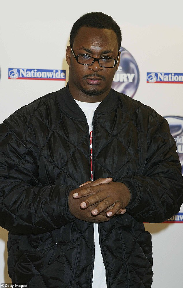 Iconic: Ty first shot to prominence in 2001 with his debut album The Awkward, and his second album Upwards was nominated for The Mercury Prize in 2004 (pictured in 2004)